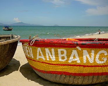 An Bang beach Hoi An day tour Vietnam