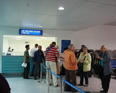 Getting Vietnam visa on arrival at Vietnam airport