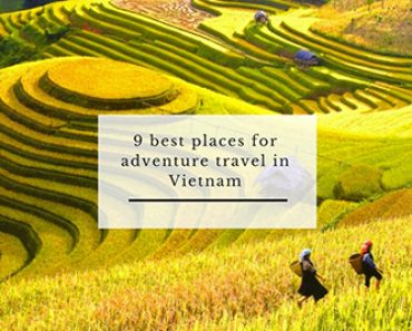 9 best places for adventure travel in Vietnam